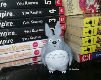 Totoro from Hayao Miyazaki's Studio Ghibli My Neighbor Totoro figurine