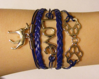 Greyhound bracelet, greyhound jewelry, dog bracelet, dog jewelry, canine bracelet, canine jewelry, fashion bracelet, fashion jewelry