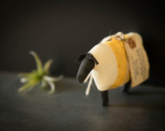 sheep .. stuffed sheep, plush toy