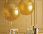 """36"""" Extra Large Giant Round Gold/Silver/Black/Clear/Pink/Coral/Mint Balloons // Wedding and Birthday Decor"""