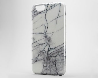 White Marble iPhone 8 Plus Case iPhone X Case iPhone 7 Plus iPhone 6 Case iPhone 7 iPhone SE Case iPhone 5 Phone Cover Marble Galaxy S8 Case