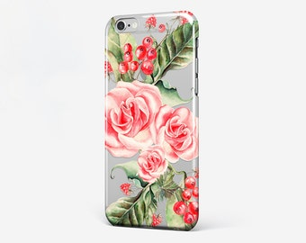 Flower iPhone 6 Case iPhone 7 Cover iPhone 5C Floral iPhone 7 Plus Case iPhone SE iPhone 4-5 Cell Phone Case iPod Galaxy Edge Case iPhone 6S