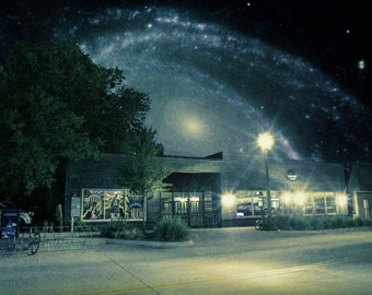 Harvest of Stars - Limited Edition Canvas Print - Harvest House, Denton Texas