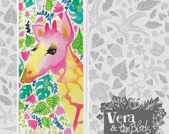 Sony Xperia Z3 watercolor giraffe case, Sony Xperia Z2 case, Sony Xperia Z1 case, Sony Xperia Z1 compact case, Sony Xperia giraffe case