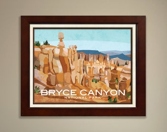 Bryce Canyon National Parks Print