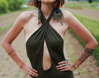 LIN Cross Dress Oliv Green