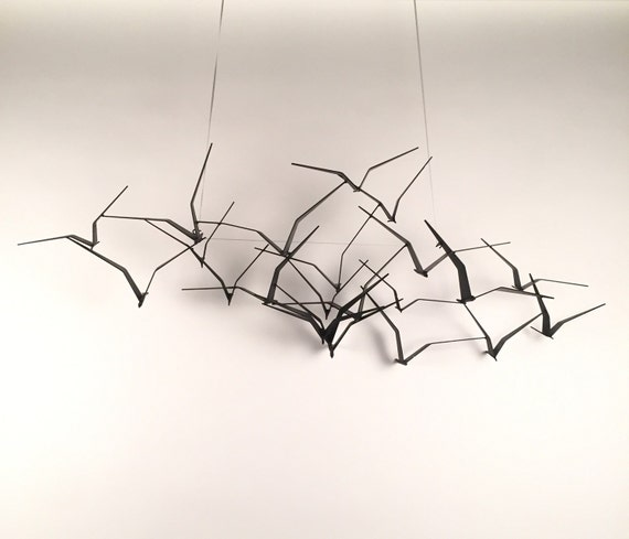 C Jere Birds In Flight Wall Art Sculpture Mid Centuy Modern