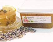 Natural Lavender Lemon Herbal Relaxing Sugar Scrub Body Polish - 2 Oz