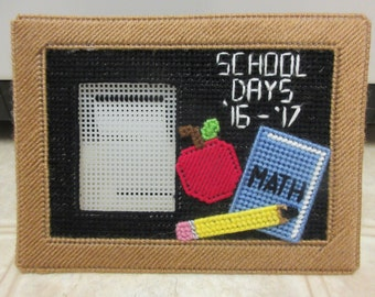 school picture frames plastic canvas school days picture frame classroom decor
