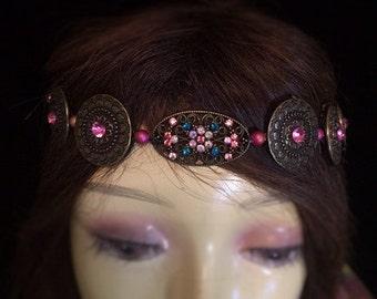 Renaissance Wreath, Medieval Crown, Medieval Jewelry, Renaissance Jewelry, Tudor Crown, Celtic Tiara, Tudor Replica, Celtic Circlet crown