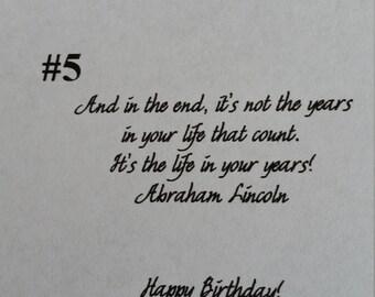 birthday message #5