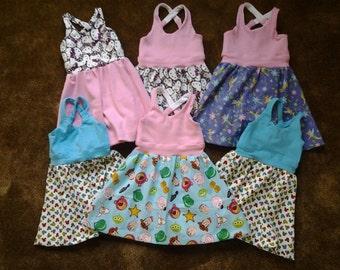 Custom Aurora Dresses / Baby Dresses / Toddler Dresses / Girls Dresses