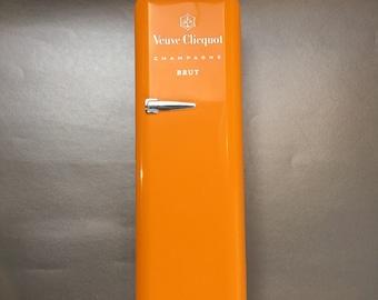 Veuve Clicquot Champagne  Novelty Orange Refrigerator Carrying Box