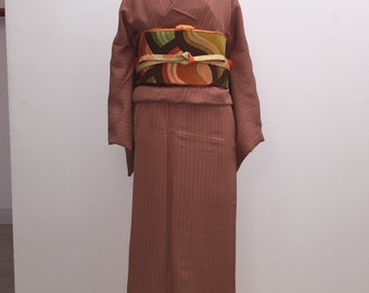 Set for Vintage kimono, obi and obi age