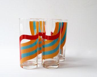 Vintage Barware Set of Four