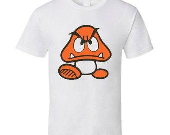 Goomba Super Mario Bros. Nintendo T Shirt