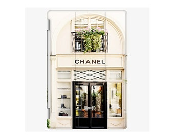 Fine Art Photo of Chanel Store in Paris iPad 2 3 4 Cover - Discounted - Only 2 Available - Fits iPad 2 3 4 only - Overstocked must go soon!