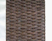 Willow woven hurdle fence panel, 3'W x 6'H, WWP-36