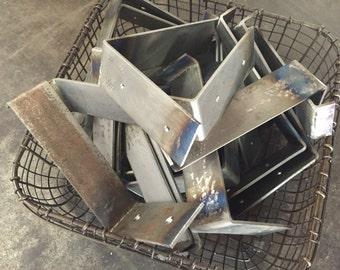 Shelf Brackets, SET OF 2, Industrial Shelf Brackets, DIY Shelf