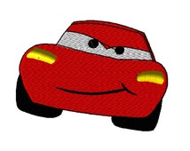 McQueen Car Embroidery Design INSTANT DOWNLOAD 4x4