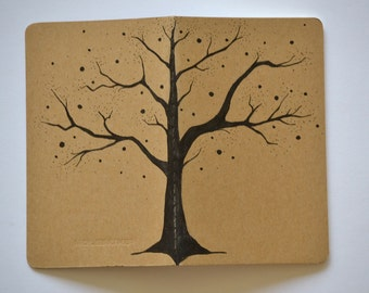 Tree Small Moleskine Cahier Journal . Pocket Journal