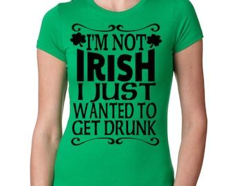Green st patricks day T-shirt Funny saint Patty's day shirt