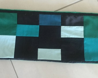 Weighted Lap Pad, 2.5kgs, 680mm x 200mm. Minecraft - Creeper