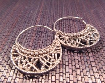 Cool Vintage Sterling Silver Earrings
