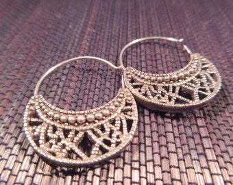 Cool Vintage Sterling Silver Earrings
