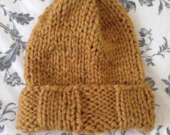 Chunky Handknit Hat