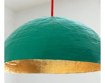 Green and Golden hanging light - Collection PM -