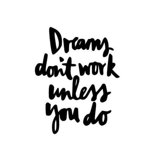 dreams don 39 t work unless you do quote macbook by sundevildecal. Black Bedroom Furniture Sets. Home Design Ideas