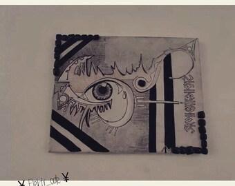 Canvas psyche - etnik. Eyes Canvas