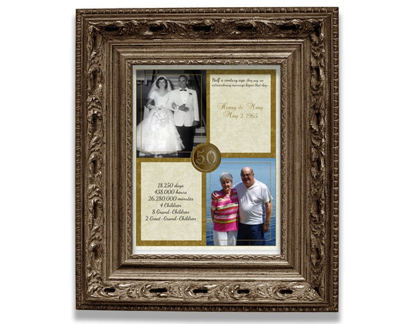 Fiftieth Wedding Anniversary Gifts: 50th Wedding Anniversary Gift