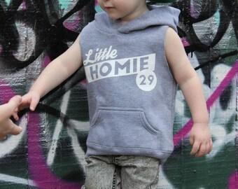 Little Homie Muscle Hoody