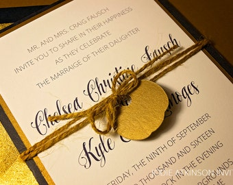 Enchanted Wedding Invitation - DEPOSIT