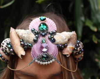 blue gypsy eye crown