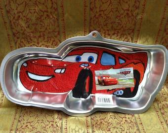 New Wilton Lightning McQueen Cars Cake Pan