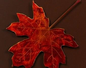 Magnetic Leaf 2 - Metal Art - (KK2---)