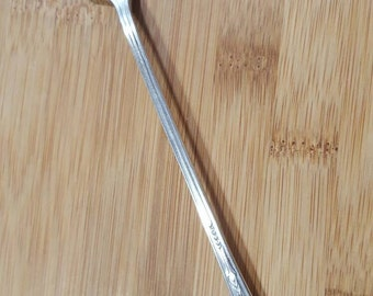 "Vintage VALENCIA Silver Plate VALENCIA Muddler/Bar Spoon/Iced Teaspoon 7 5/8"""