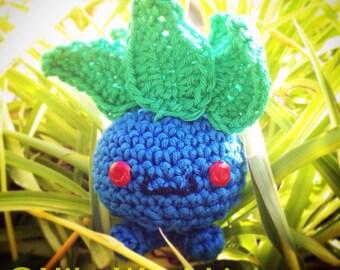 Handmade Amigurumi Oddish Pokemon