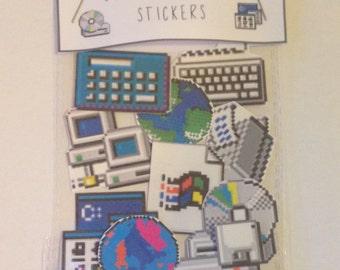 90's internet icon sticker pack