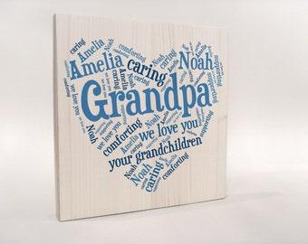 Personalized Gift for Grandpa, Grandpa Gift, Birthday Gift for Grandpa, Gift Grandpas Birhtday, Grandpa 80