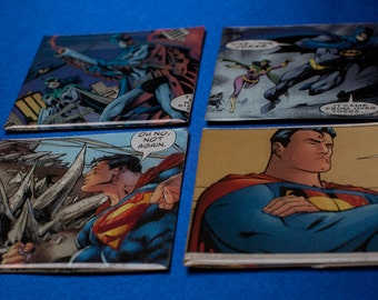Superman & Batman Magnets