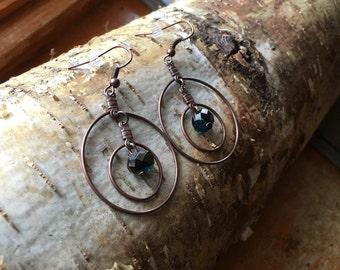 Bronze Dangle Earring