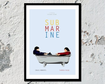Submarine high quality film print (A5, A4, A3)