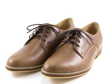LANEY SHOES - Derby Shoes - Brown - Women's