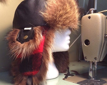 Trapper hat***Fur hat