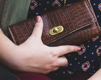Women's Wallet - Women's Vegan Wallet - Vegan Leather Wallet - Vegan Clutch Wallet - Cell Phone Wallet