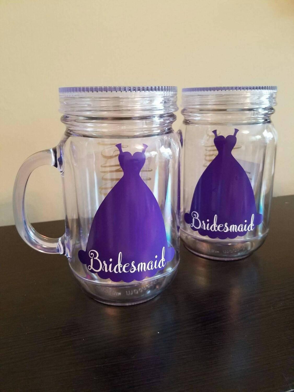 Clear mason jar tumbler personalized plastic tumbler 20 oz for Custom cosmetic jars